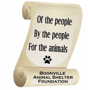 Boonville Animal Shelter Fdn Logo